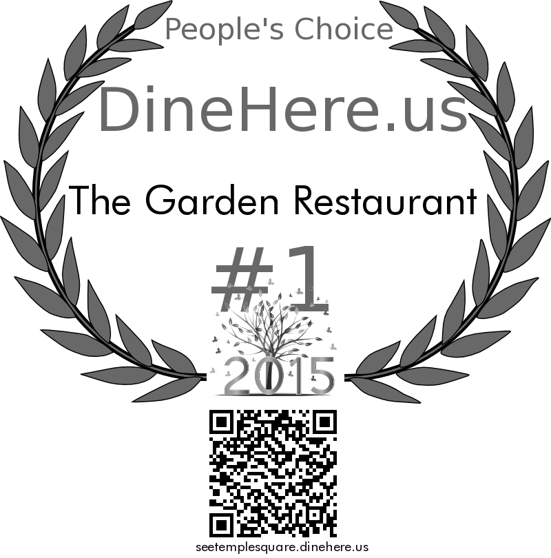The Garden Restaurant DineHere.us 2015 Award Winner